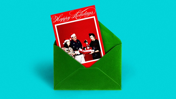 Holiday Cards Online >> Millennials Are Keeping Family Christmas Cards Alive The Atlantic