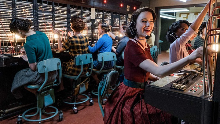93948bcb5da Rachel Brosnahan stars as Midge in Amazon Studios  The Marvelous Mrs. Maisel.Amazon  Studios