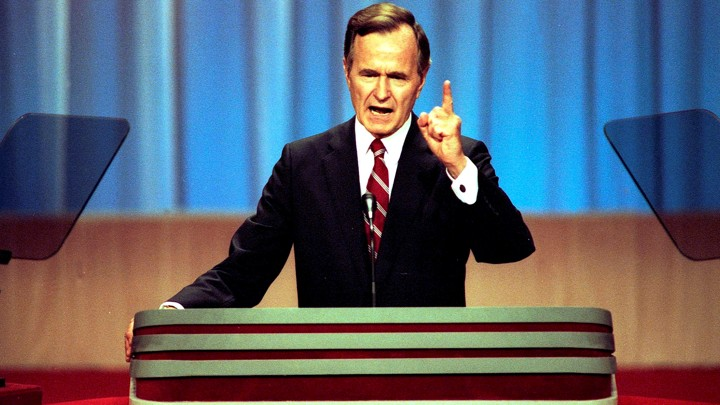 George H W Bush Was A Party Loyalist And It Cost Him The Atlantic