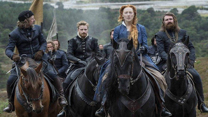Saoirse Ronan as Queen Elizabeth in 'Mary Queen of Scots'
