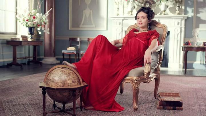 Olivia Cooke stars as Becky Sharp in Amazon's 'Vanity Fair'