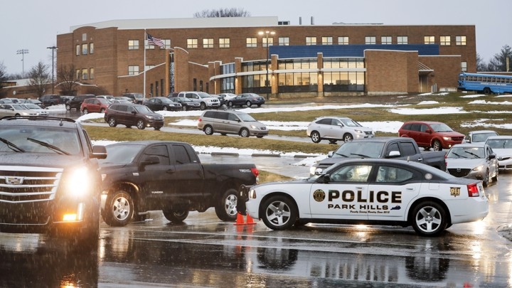 Classes resume at Covington Catholic High School on January 23, 2019, following a closing due to security concerns.