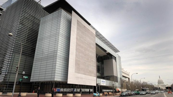 exterior of the Newseum