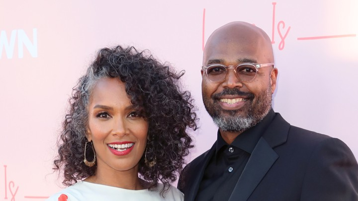 Mara Brock Akil and Salim Akil at the premiere of 'Love Is'