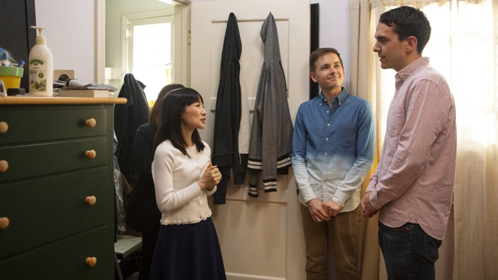 Marie Kondo in an episode of 'Tidying Up With Marie Kondo' on Netflix