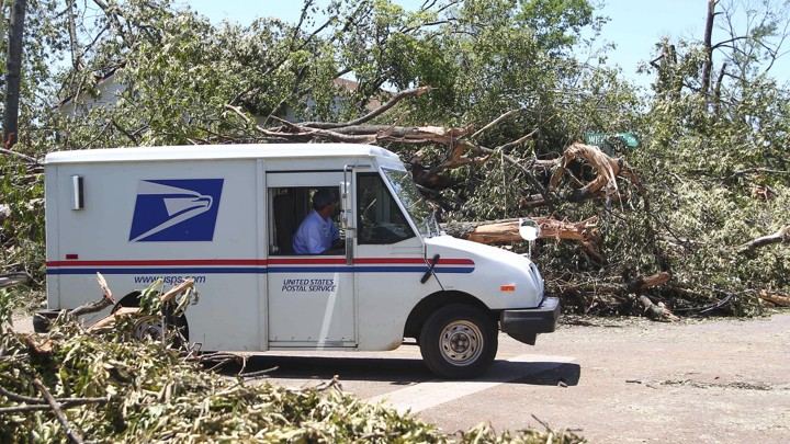 What Happens to Mail During a Natural Disaster? - The Atlantic