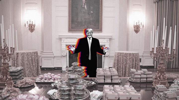 Clemsons White House Visit Turns Into A Meme The Atlantic