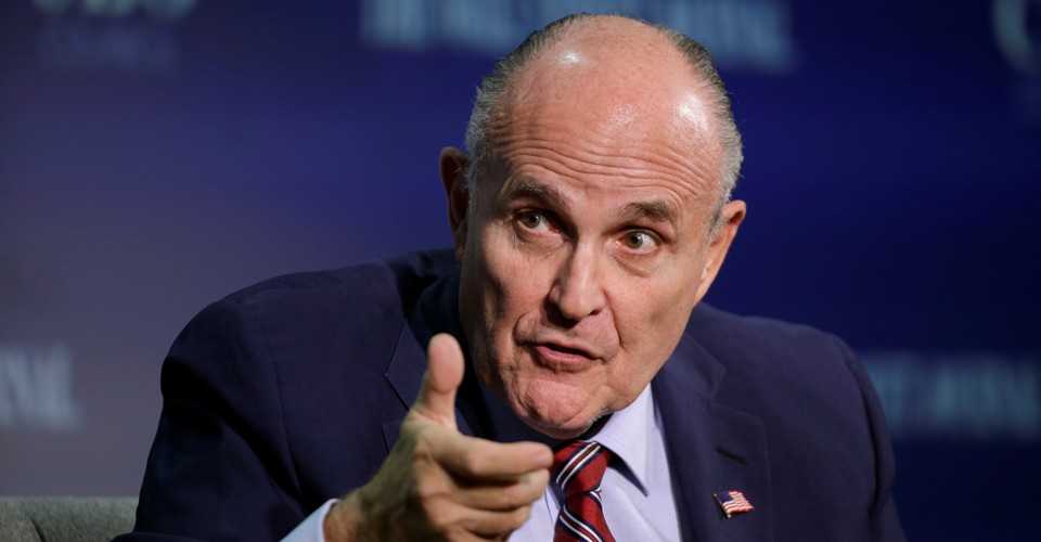 Rudy Giuliani Says Trump Never Told Cohen To Lie The Atlantic