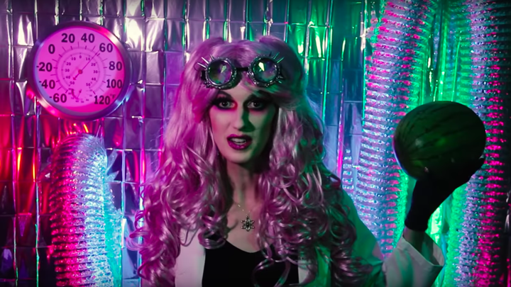 A still from the ContraPoints video 'The Apocalypse'
