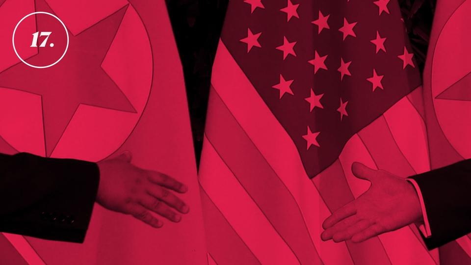 Donald Trump Stars in a North Korean Reality Show