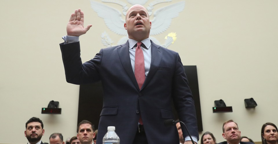 photo image The Atlantic Politics & Policy Daily: At His Whitaker's End
