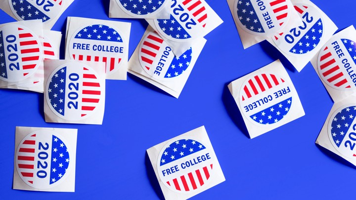 Investment Ideas For 2020 College What Do 2020 Democrats Think of Free College?   The Atlantic