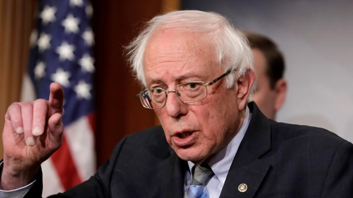 Gentil Bernie Sanders Is The Democratic Front Runner