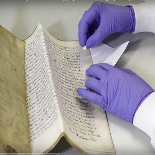 The Lab Discovering DNA in Old Books - The Atlantic