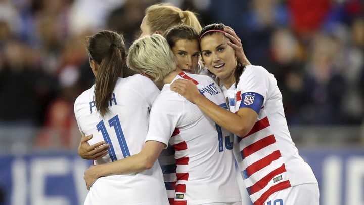 c7466f640 The U.S. National Women's Soccer Team Makes a Really Good Case for Equal Pay