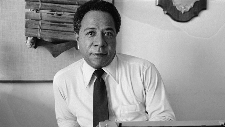 """Alex Haley is the author of """"Roots,"""" in which a character exclaims """"Freedom am won!"""""""
