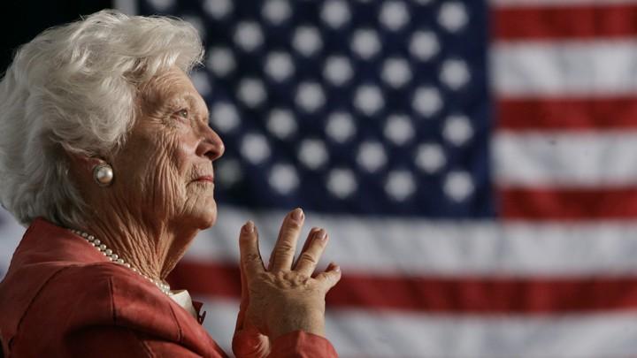 How Barbara Bush Decided She Was Pro-Choice - The Atlantic