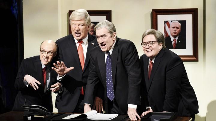 "3e550e815f2 Saturday Night Live Wades Into the Chaos of the Mueller Report. """