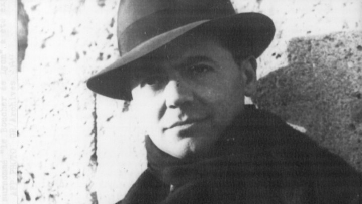 The French resistance leader Jean Moulin