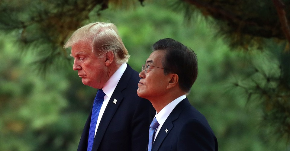 South Korea Wants to Bring Trump and Kim Together Again