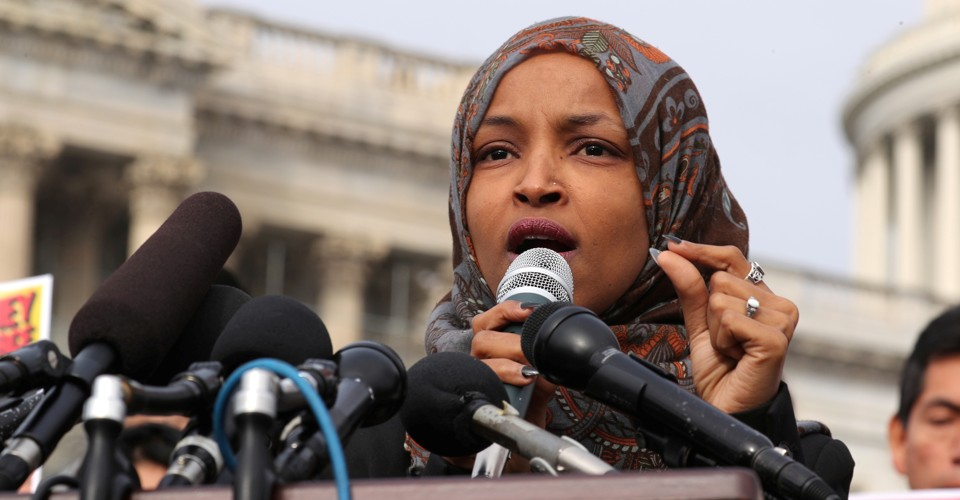 Image result for Rep. Ilhan Omar Stands Strong After Donald Trump Attack