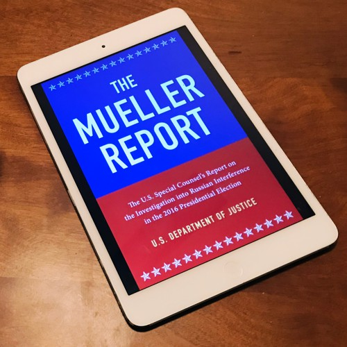 The Problem With a Free Mueller-Report Ebook - The Atlantic
