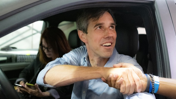 Beto O'Rourke in the HBO documentary 'Running With Beto'