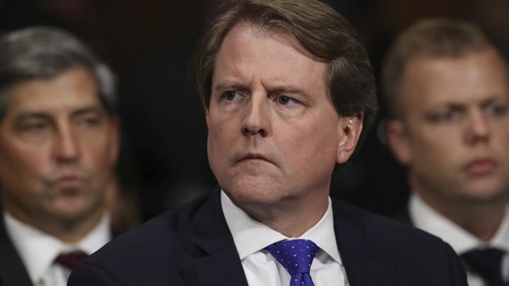 McGahn Won't Comply With Subpoena: Politics Daily - The Atlantic