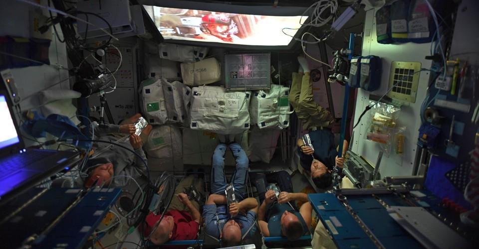 NASA Astronauts Watch 'Game of Thrones,' Too - The Atlantic
