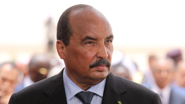 Mauritanian President Mohamed Ould Abdel Aziz