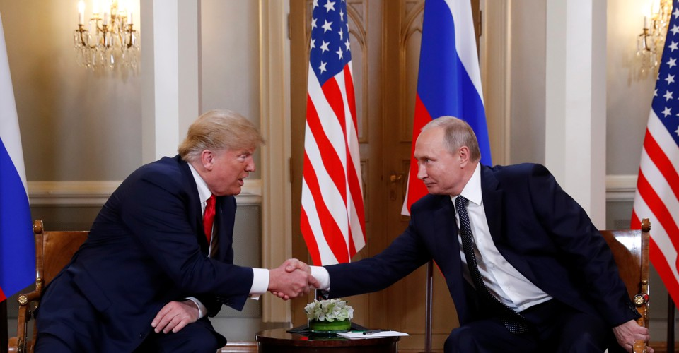 photo image Trump's 'Good Cop' Routine With Putin Could Seriously Backfire