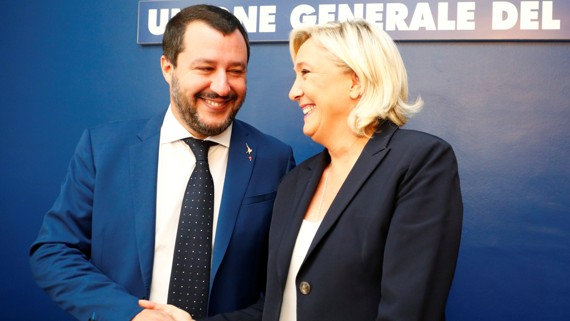 theatlantic.com - Macron and Salvini: Two Leaders, Two Competing Visions for Europe