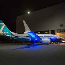 A Boeing 737 Max
