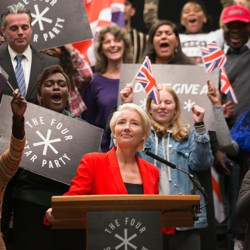 Emma Thompson stars as the iconoclastic politician Vivienne Rook in HBO's 'Years and Years.'