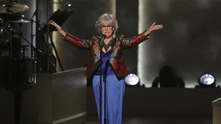Rita Moreno performs at the Gershwin Prize tribute concert in Washington, D.C., in March 2019.
