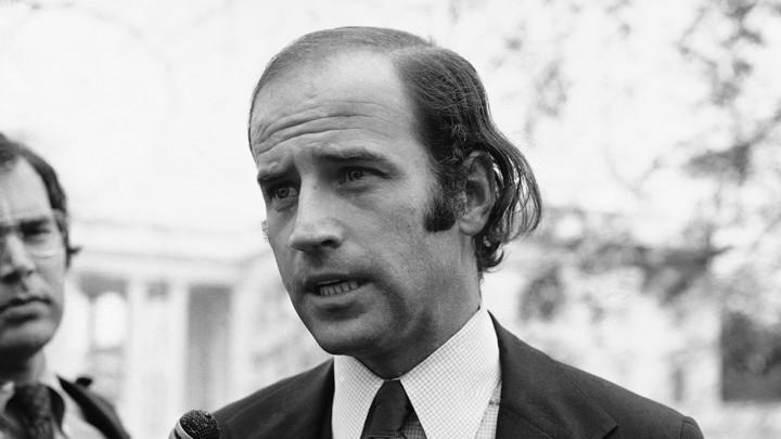 Joe Biden as a newly elected senator
