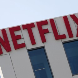 The Netflix building in Hollywood, California