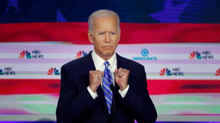 Joe Biden during the June 27 debate