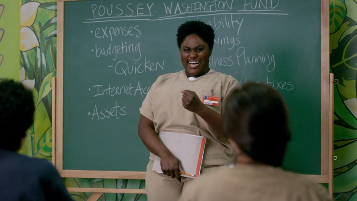 Image result for orange is the new black season seven taystee