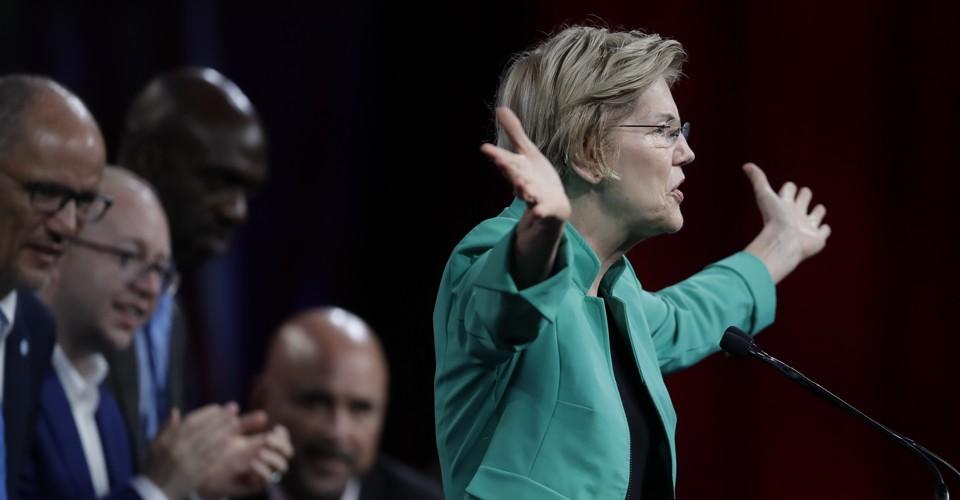 Elizabeth Warren Manages to Woo the Democratic Establishment