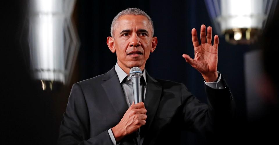 Obama Still Sounds Like a President