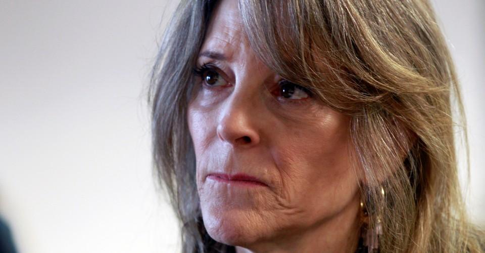 Marianne Williamson Ties Self-Help to Progressive Goals - The Atlantic