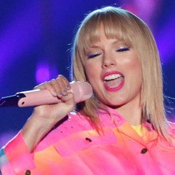 Taylor Swift performs at the iHeartRadio Wango Tango concert in 2019.