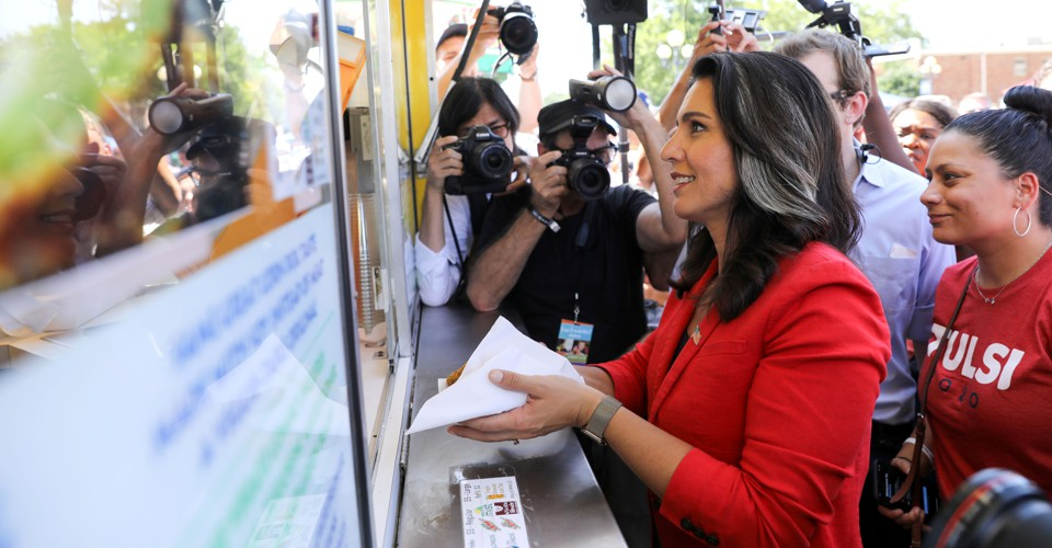 Tulsi Gabbard, the Mystery Candidate