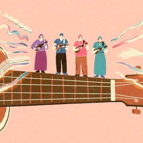 Grandma's Ukulele Band - The Atlantic