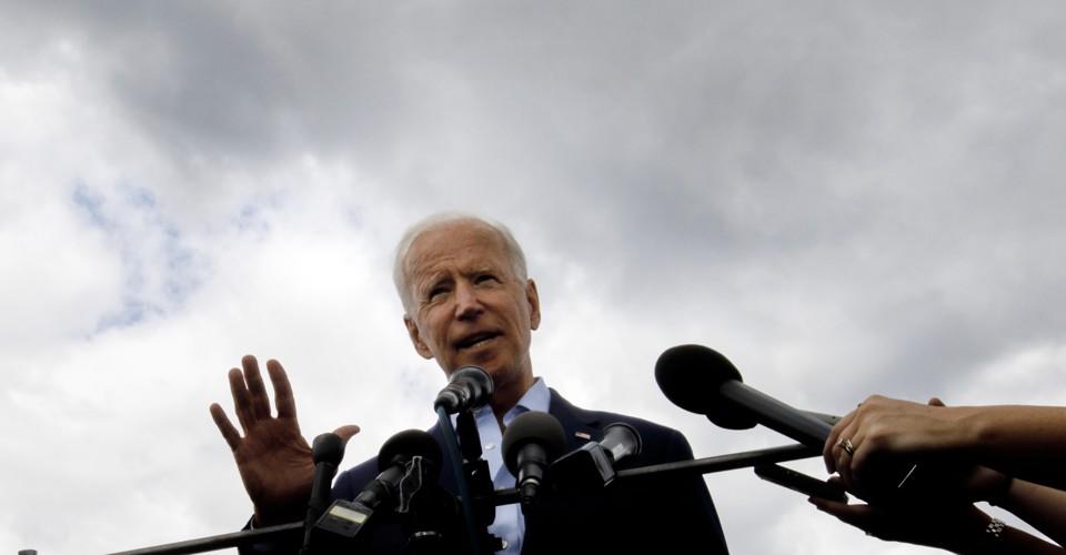 photo image Will Joe Biden Lose His Lead?