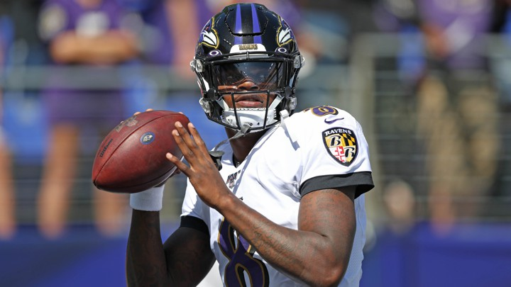 best sneakers 68c99 aaf4d The Ravens' Lamar Jackson Is Proving His Critics Wrong - The ...