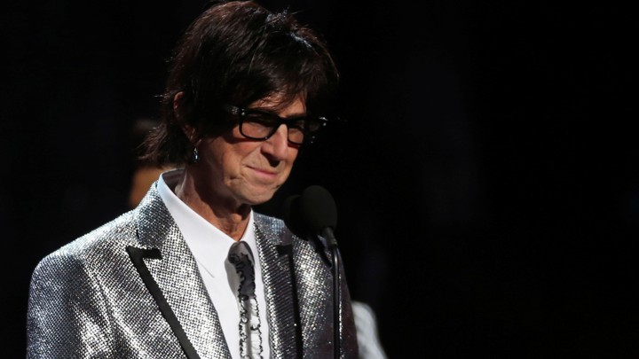 Ric Ocasek at the Rock and Roll Hall of Fame induction