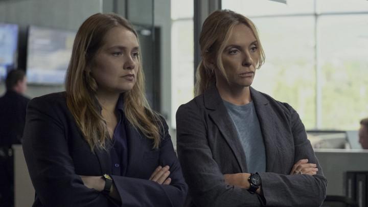 Merritt Wever and Toni Collette in Netflix's 'Unbelievable'