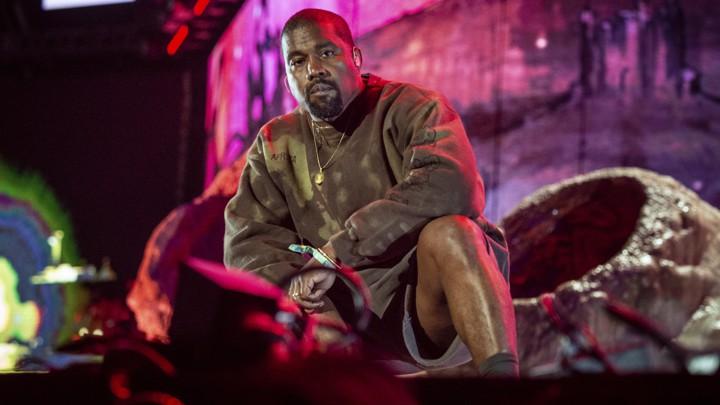 Kanye West at Coachella 2019